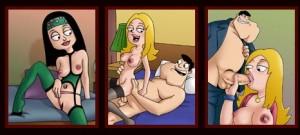 American Dad porn comics